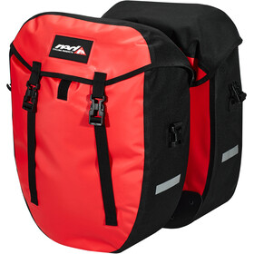 Red Cycling Products Urban Twin II Carry Bag 1 Pair, red